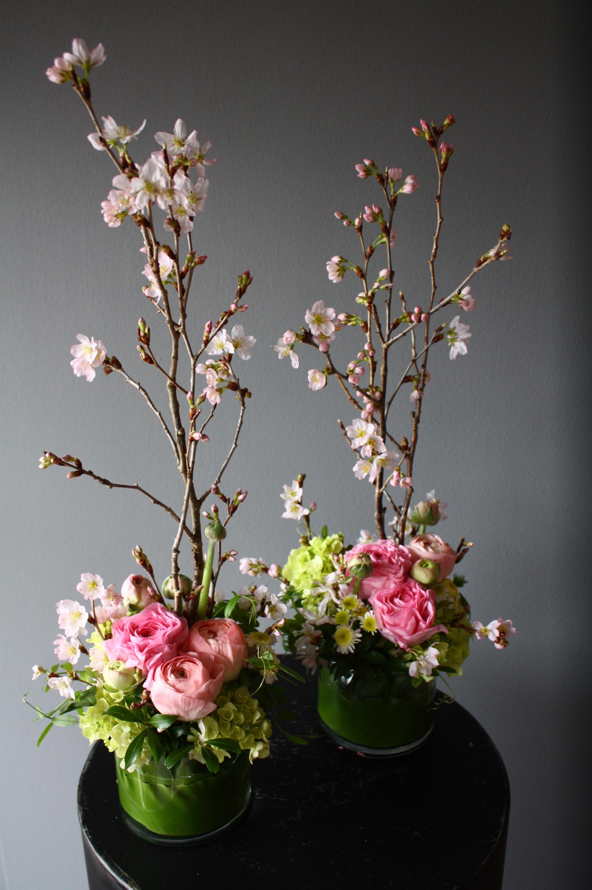 桜のアレンジメント